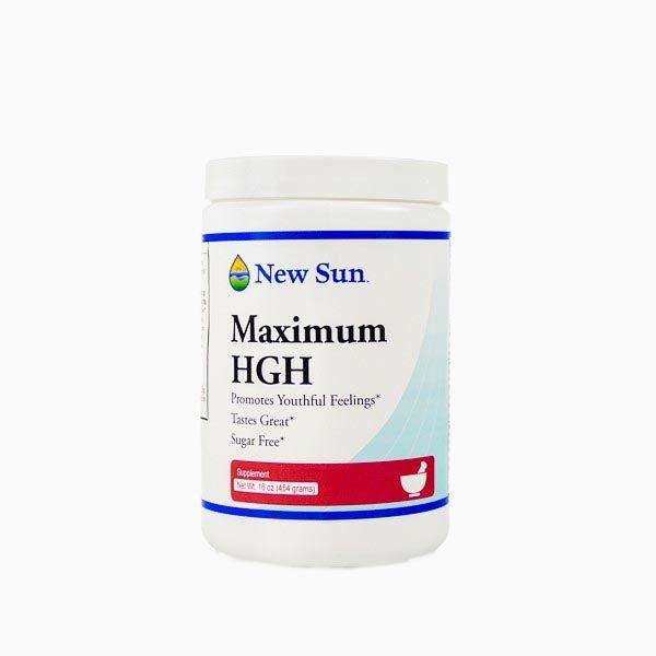 Maximum H G H  - Amino Acid Blend Supplement (16 oz Bulk)